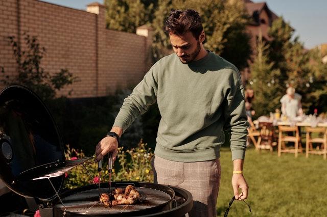 grill rozpalanie